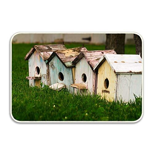 Small House Gorilla Grip Original Durable Rubber Door Mat, Heavy Duty Doormat, Indoor Outdoor, Waterproof ()