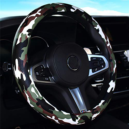 jeep camo steering wheel cover - 8