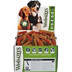 Paragon (350 Count) Whimzees Stix Dental Treats, X-Small