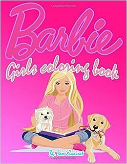 Barbie Girls Coloring Book Amazoncouk Sami Zaairat 9781520432793 Books