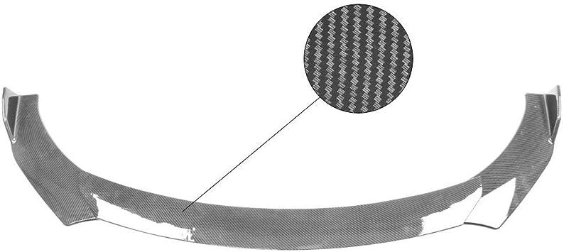 Amazon Com Ikon Motorsports Universal A Style Front Bumper Lip Chin Splitter Spoiler Air Dam Carbon Fiber Print Automotive