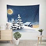 "Startview New Fashion 59.1""51.1"" Christmas Xmas Tapestry Hippie Room Bedspread Wall Hanging Throw Blanket (G)"