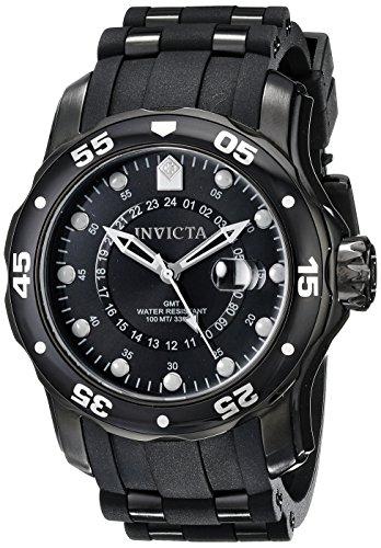 Invicta Men's 6996 Pro Diver Collection GMT Black Sport Watch