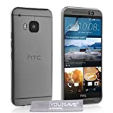 Yousave Accessories HTC One (M9) 2018 Case Super Slim Clear Silicone Gel Cover