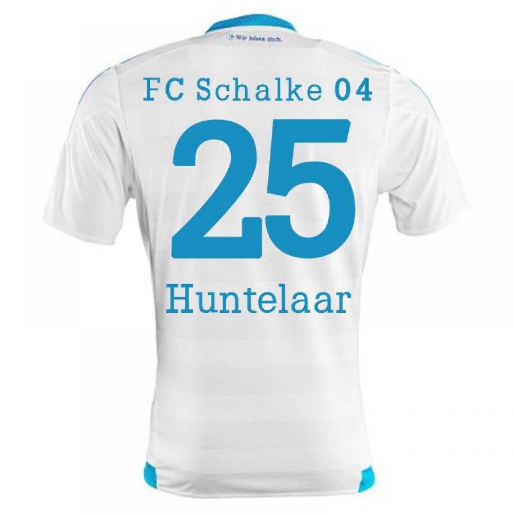 2015-16 Schalke Away Shirt (Huntelaar 25) B077VJV2PZWhite XL 44-46\