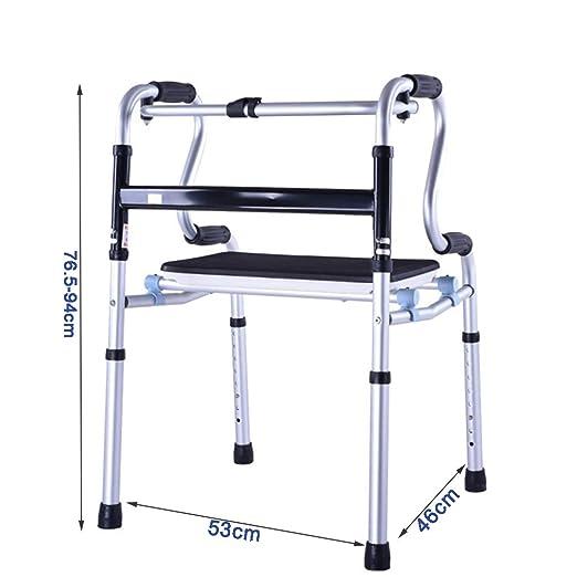 WJQSD Andador Andador para Discapacitados Andar para Caminar ...