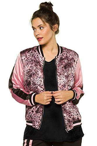 Plus Satin Women's Untold 715259 Multi Jacket Studio Bomber Print Size x1A6nqI