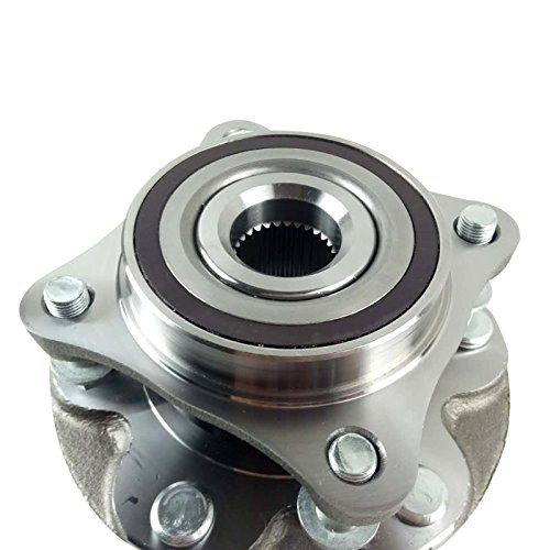 GALLOP Wheel Hub, Front Wheel Hub & Bearing Assembly, Front Driver (Left)/Passenger (Right), For 2003-2015 Toyota 4Runner FJ Cruisers Tacoma Lexus GX460 4WD/4x4 6 Lug (Replacement Cost Bearing Wheel)