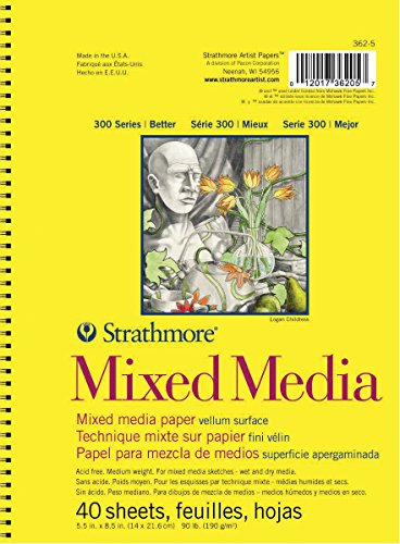 Strathmore 300 Series Mixed Media Pad, 5.5