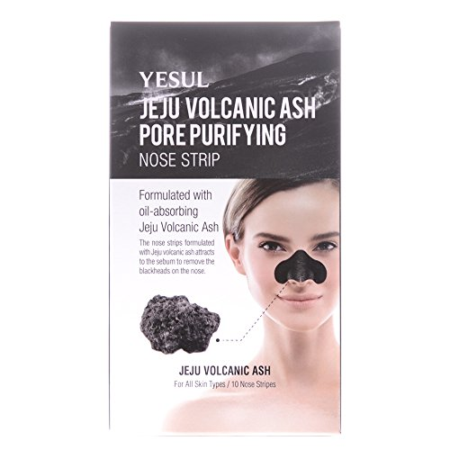 Yesul Jeju Volcanic Ash Pore Purifying Nose Strip (10ct)