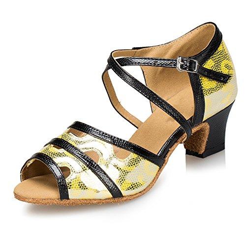 Miyoopark ,  Damen Tanzschuhe Gold-5cm heel