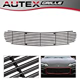 2001 chevy camaro grill - AUTEX Black Aluminum Upper Billet Grill Grille Insert C86006H Compatible With 1998 1999 2000 2001 2002 2003 Chevrolet Camaro, 1998 1999 2000 2001 2002 2003 Chevrolet Camaro SS