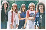 Journey Steve Perry Outdoors 11x17 Poster