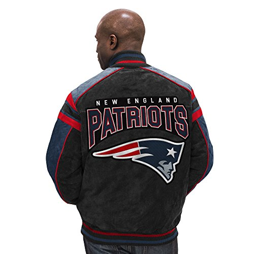 Licensed Sports Apparel New England Football Patriots Legend Suede Jacket - M