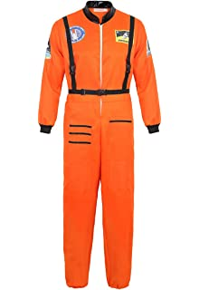 Ladies Red Space Traveller Fancy Dress Costume One Size