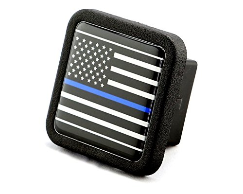 Reflective US USA flag Trailer Hitch Cover tube Plug Insert (Fits 2