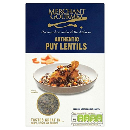 Merchant Gourmet Authentic French Puy Lentils 500g - Pack of 6 by Merchant Gourmet