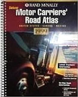 Motor carriers 39 road atlas 1999 united states canada for Motor carriers road atlas download