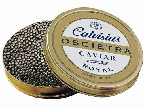 Oscietra Royal (Russian Sturgeon Caviar) by Calvisius, 125 Grams Approximately 4.4 Ounces -