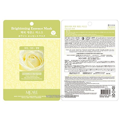 MIJIN Care Essence Facial Mask Sheet Pack 10 sheets - Brightening