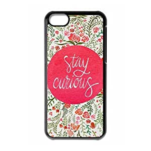 Gentleman's Quotes iPhone 5C Case Black Yearinspace928335