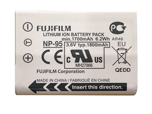 Fujifilm NP-95 Li-Ion Battery for Fuji X-100 Digital Camera