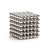 Magnetic Ball, Dadeta Magnetic Sculpture Toys for Intelligence Development and Stress Relief (3MM Set of 216 Balls)