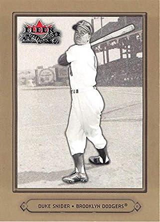 2002 Fleer Fall Classic 60 Duke Snider NM MT Dodgers