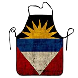Flag Of Antigua And Barbuda Kitchen Aprons