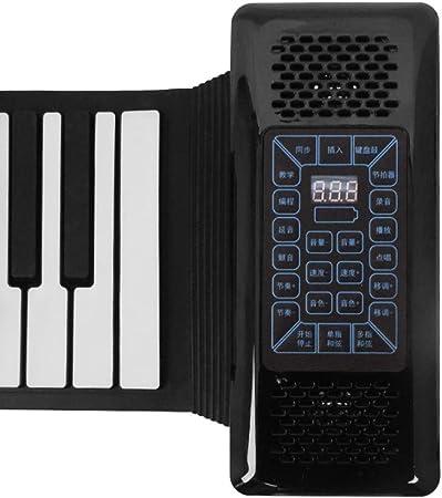 Ms102 Piano enrollable manual 88 teclas portátil versión ...