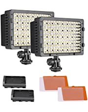Neewer 2-Pack Dimmable 216 LED Video Light