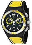 Technomarine Men's 'Cruise' Quartz Stainless Steel and Silicone Casual Watch, Color:Two Tone (Model: TM-115181)
