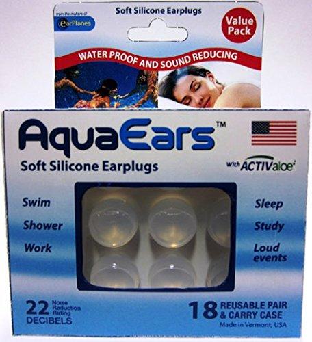 Aqua Ears® Soft Silicone Earplugs 18 Pair by Aqua Ears