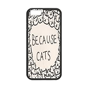 """BECAUSE CATS Phone Case For Apple Iphone 6,4.7"""" screen Cases FNWT-L879603"""