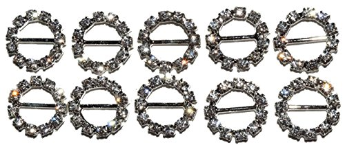 The Buckle Boutique 10 Piece Round or Circle 10mm 6
