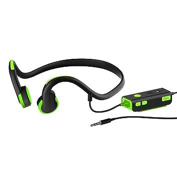 Joyeer Auriculares inalámbricos Bluetooth hueso conducción deporte cómodo seguro ejecutando manos libres auriculares música sweatproof abrir