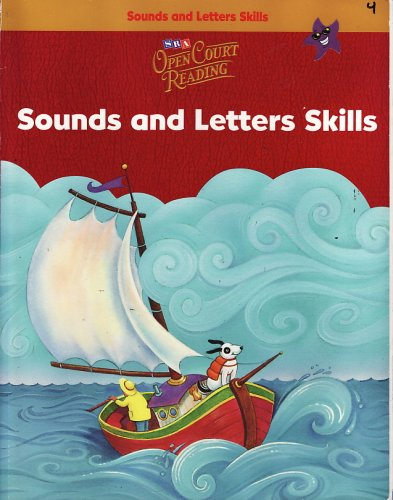 SRA Open Court Reading: Sound and Letter Skills, Grade K
