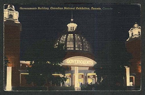 Governments Building Canadian National Exhibition Toronto Canada postcard 1930s from The Jumping Frog