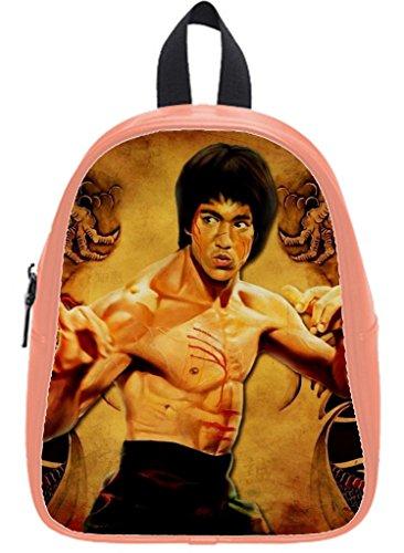 fellt diy print Custom Bruce Lee School Bag 12
