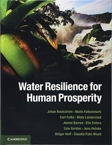 Water Resilience for Human Prosperity