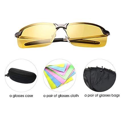 bf29ba1c319b Anti-Glare Polarized Night Vision Driving Glasses Sunglasses for Headlight Men  Women hd Sight Comfortable
