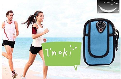 kreative arm tasche, tauchen material fitness - outdoor - handy wasserdichte tasche reiten, bergsteigen laufen - arm - gürtel (A)