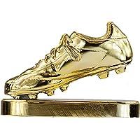 RegalosDeBodaOnline Trofeo réplica Bota de Oro Personalizado Grabado trofeos Deportivos fútbol