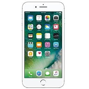 Apple iPhone 7 Plus, Fully Unlocked, 32GB - Jet Black (Certified Refurbished)