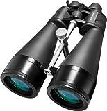 BARSKA Gladiator 25-125x80 Zoom Binoculars (Green Lens, Braced-in Tripod Adapter)
