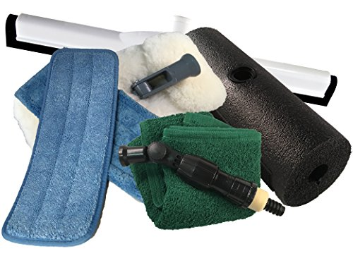 Mary Moppins Deluxe 9″ Pure Lambswool RV Wash and Dry Kit