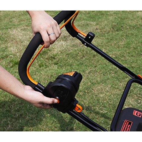 LawnMaster CLMB4016K 40V rechargeable Walk Behind Lawn Mowers