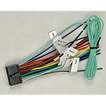 xtenzi 20 pin power wire harness compatible with dual in dash systems