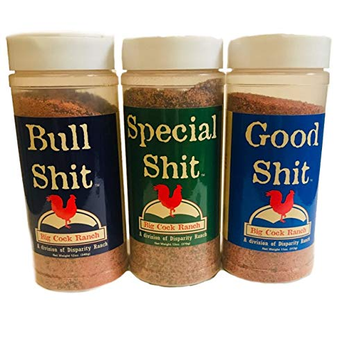 Special Shit Seasoning Variety Pack | 12 oz Each of Special Shit, Bull Shit, and Good Shit