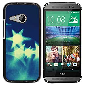 MOBMART Carcasa Funda Case Cover Armor Shell PARA HTC ONE MINI 2 / M8 MINI - Huge Star Reflections